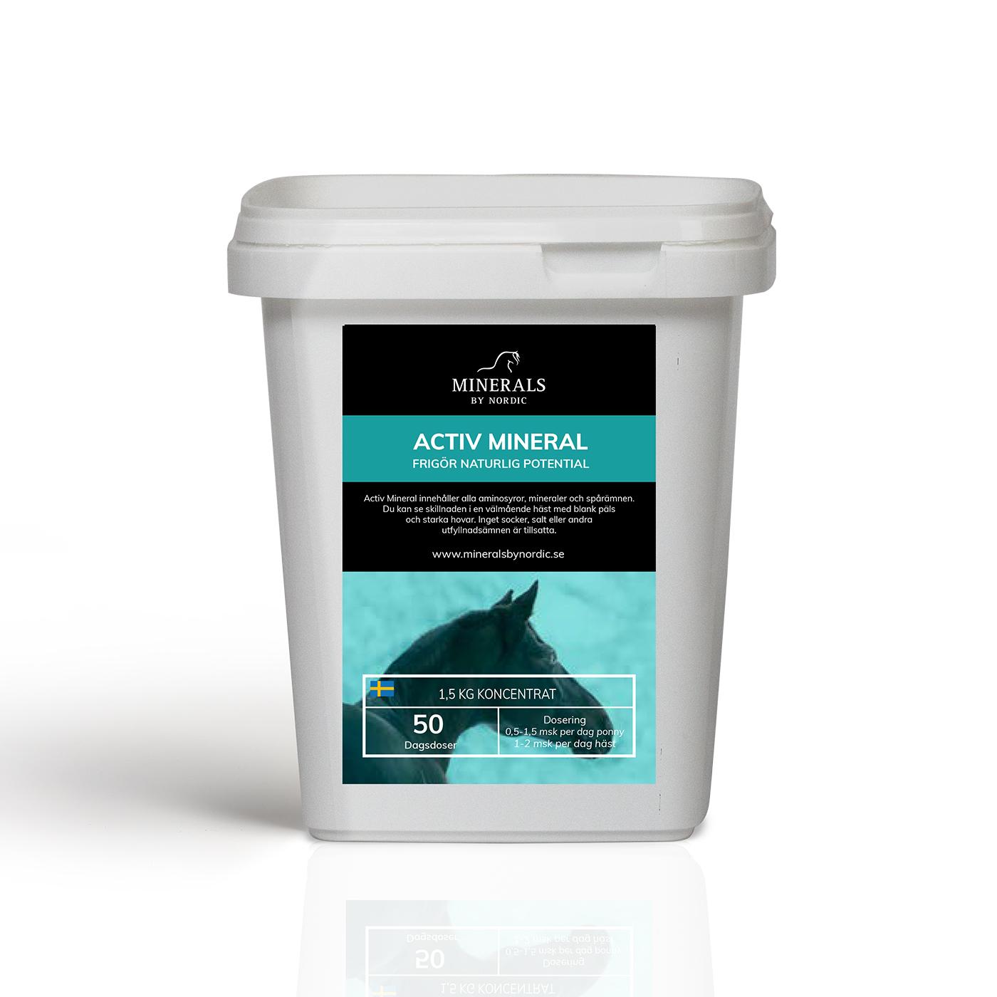 naturliga mineraler häst
